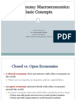 Open Economy Macro