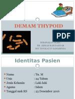 Dr. Ahmad Rais Dahyar - Demam Tifoid