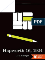 Salinger -Hapworth 16, 1924