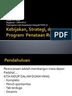 Kebijakan, Strategi, Dan Program Penataan Ruang FPP Tk Muda_rudyptamb_17mei016