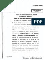 poliza de 40.000€ diego