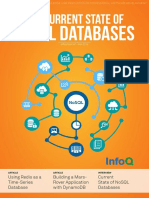 InfoQ EMag the Current State of NoSQL Databases