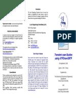 EEUG Course 2008 Leaflet