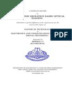 Reverse Time Migration Based Optical Imaging