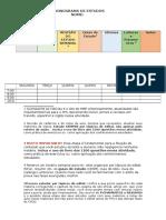 CADC - Cronograma de Estudos