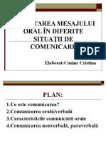 Receptarea Mesajului Oral (1)