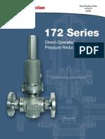 Masoneilan+-+172+Series+Regulator+Spec+Data