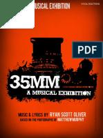 35mm- A Musical Exhibition (Sheet Music)