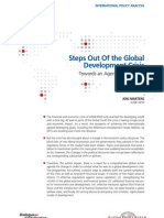 Steps Out Of the Global Development Crisis