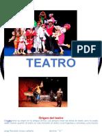Origen Del Teatro