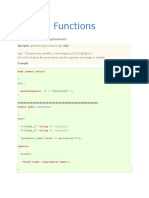 Functions Used in CFEngine