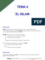 Tema 4- El Islam