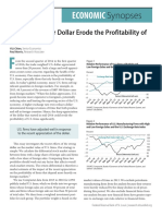 Does a Stronger Dollar Erode the Profitability of u s Firms