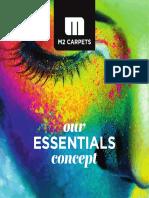 M2Carpets Brochure ESSENTIALS