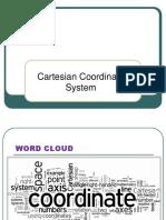 Cartesian Coordinate System