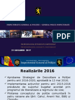 Bilant 2016 Presa