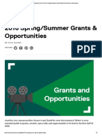 2016 Spring_Summer Grants & Opportunities _ International Documentary Association