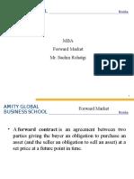 Forward Market