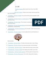 Top 100 Phobia List
