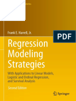 Regression Modeling Strategies_ With Applications to Linear Models by Frank E. Harrell