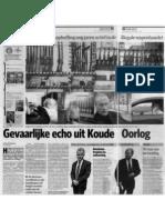 Operation Gladio AD-prdv Dutch Newspaper Article