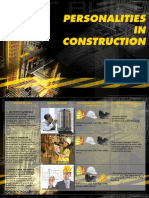 personalities in construction