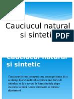 Cauciucul Natural Si Sintetic