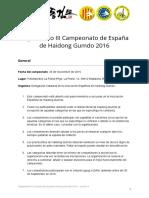 Reglamento III Campeonato Espana Haidong Gumdo 2016 v5