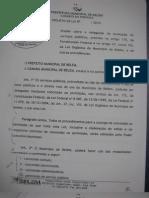 projeto de privatização dos serviços públicos _ PMB