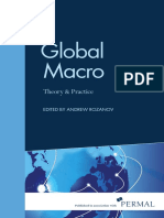 Global Macro Theory and Practice