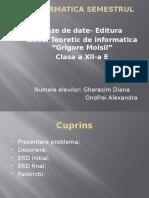 Proiect Info-baze de date