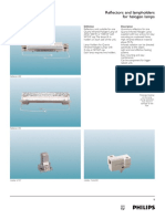 Philips Reflectors and Lamp Holders for Halogen Lamps