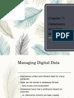 Database and Database Warehouses