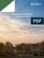 Uni of Surrey Postgrad Guide 2017
