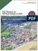 Spotlight Key Themes for Uk Real Estate 2016
