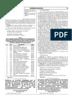 Aprueban Índices de Distribución del Fondo de Desarrollo Socioeconómico de Camisea - FOCAM correspondiente al año 2017 a ser aplicados a los Gobiernos Regionales Gobiernos Locales y Universidades Públicas de los departamentos de Ayacucho Huancavelica Ica Lima provincias y Ucayali exceptuando Lima Metropolitana