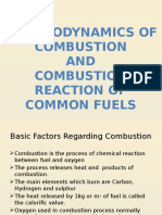 Basic Factors Regarding Combustion Seminar Ice