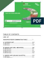 Residential Multi Split Databook