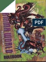 D&D 4E - Gamma World Rulebook