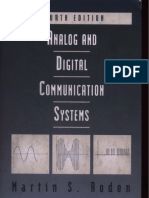 Analoganddigitalcommunicationsystems 4thed