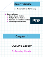 Lecture 2 Queuing Theory (Queuing Models)
