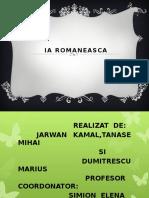 Ia Romaneasca