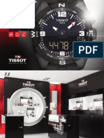 Tissot watch Catalogue 2015 - 2016