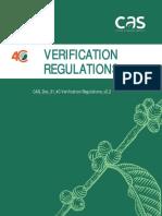 CAS Doc 31 4C Verification Regulations v2.2