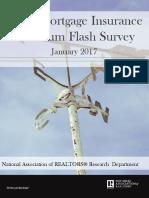 FHA Mortgage Insurance Premium Flash Survey