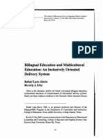 Bilingual Education and Multicultural