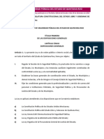Ley Seguridad Publica Quintana Roo