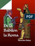 De la Babilon la Roma de Alexander Hislop