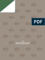 Jaeger - LeCoultre JLC Catalogue 2013