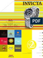 Invicta watch catalogue 2009